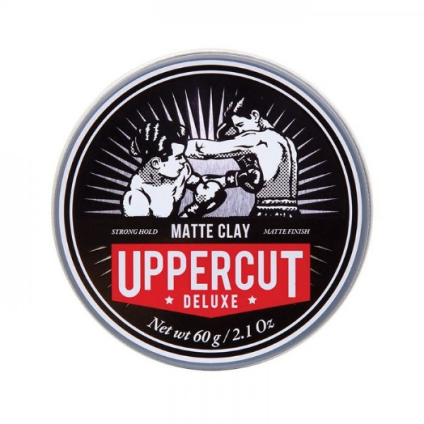 Uppercut Deluxe Matt Clay Hair Wax 60g Wosk z matowym wykończeniem