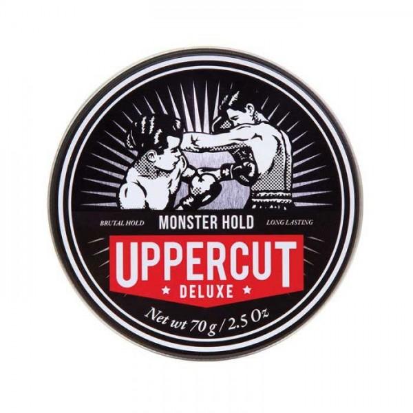 Uppercut Deluxe Monster Hold Pomade Hair Wax 70g Wosk do stylizacji z mocnym chwytem