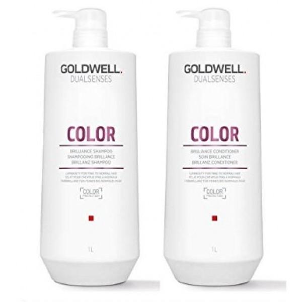 Goldwell  Color  Szampon 1000ml + Odżywka 1000ml