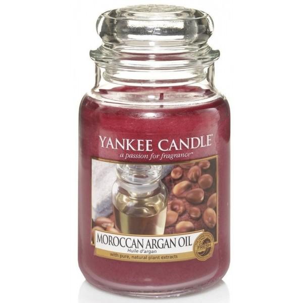 Yankee Candle ŚWIECA W SŁOIKU DUŻA  Moroccan Argan Oil 623g
