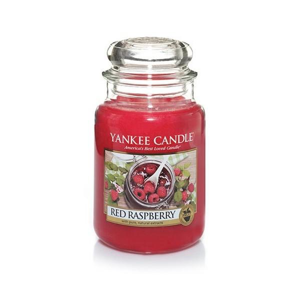 Yankee Candle ŚWIECA W SŁOIKU DUŻA Red Raspberry 623g