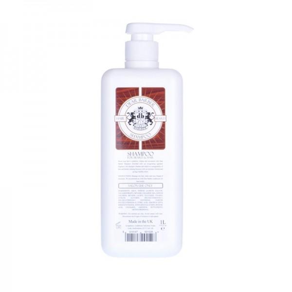 Dear Barber Shampoo Szampon 1000ml + pompka
