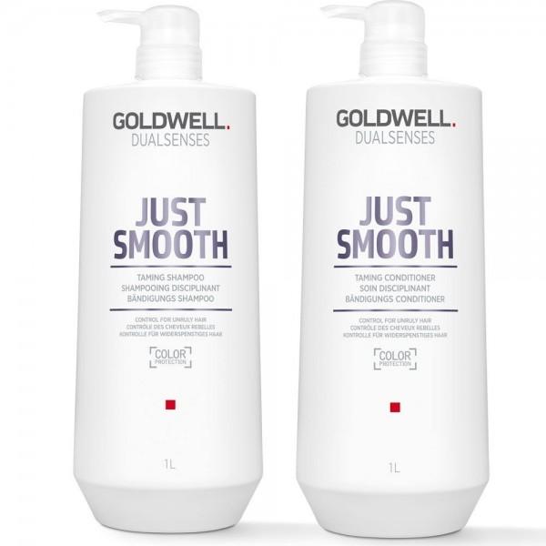 Goldwell DLS Just Smooth Szampon+Odżywka 2x1000ml