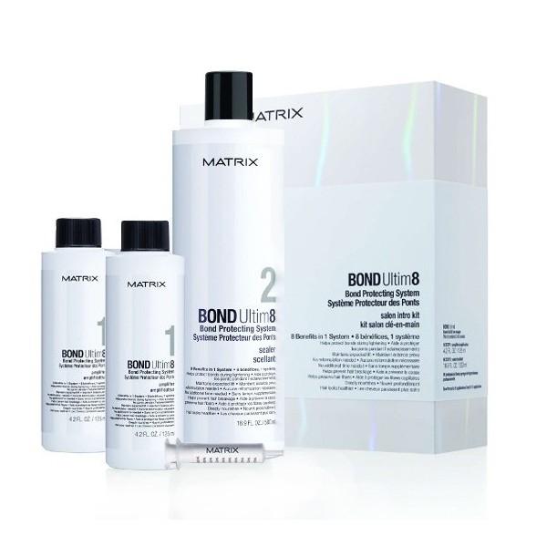 Matrix Bond Ultim8 Salon Kit Pakiet 2x125ml+2x500ml