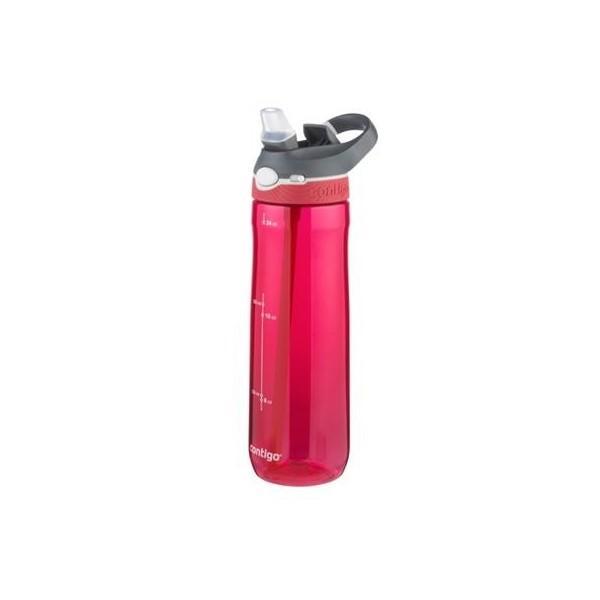 Contigo Water Bottle Ashland 720ml Red/Grey